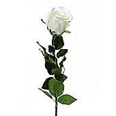 Artificial - Prize Rose Bud - Cream