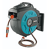 Gardena Wall Mounted Hose Roll-Up Automatic (35m)