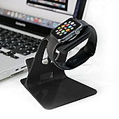 Orzly DuoStand Charge Station for Apple Watch and iPhone - Black