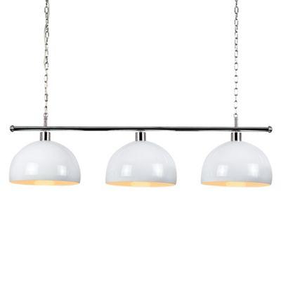 MiniSun Gulliver 3 Way LED Ceiling Light with Curva Shades - 3000K - White