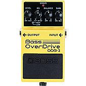Boss ODB-3 Bass Overdrive Effects Pedal
