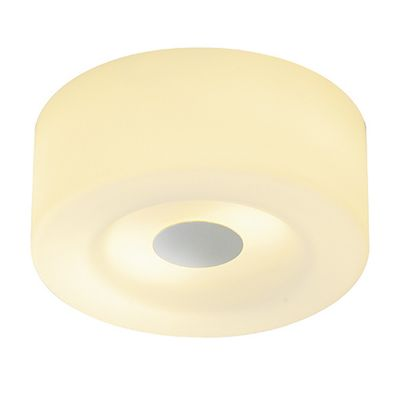 Malang Ceiling Light Round Downlight Chrome/Glass Stained Max. 2X 60W