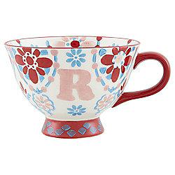 Alphabet Footed Mug R