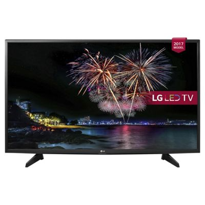 LG 43LJ515V 43 Inch Full HD LED TV with Freeview HD in Black