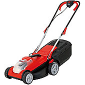 Grizzly Cordless Lawn Mower 34cm cut with 24V Li Battery