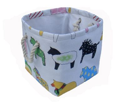 Wicker Valley One Piece Small Square Pony Soft Storage