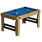 BCE Razor Rolling, Lay Flat 5ft Pool Table