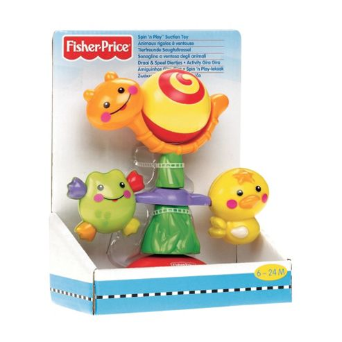 Fisher-Price Spin 'N Play Suction Cup Toy