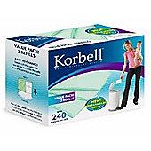 Korbell Standard Nappy Bin (15L) Refill Liners (3 Pack)