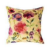 McAlister Floral Velvet Cushion - Soft Touch 43cm