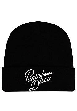Panic At The Disco Logo Beanie - Black