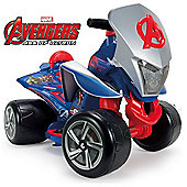 Kids Electric Mini Quad Avengers Quarterback Style Injusa