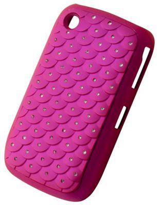 "Tortoise™ Hard Case BlackBerry® Curveâ""¢ 9300 Diamante Quilt Pink"