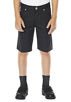 F&F School Boys Shorts - Grey