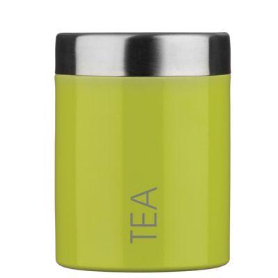 Premier Housewares Tea Canister Lime Green