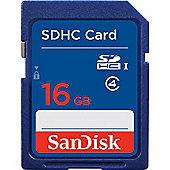 SanDisk 16GB SDHC H4U Class 4