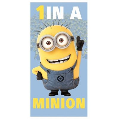 Despicable ME 'One In A Minion' Towel