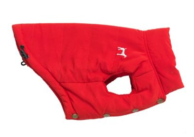 Red Fleece Lined Gilet - L