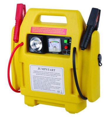 3-IN-1 12V Booster Pack with Air Compressor