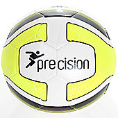 Precision Santos Training Ball White/Fluo Yellow/Black Size 4