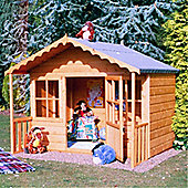 "6 x 5'6"" Wooden Playhouse 6ft x 5ft 6"" (1.83m x 1.68m)"