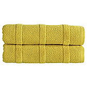 Kingsley Home Neo Bath Towel Chartreuse