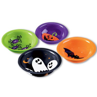 Small Plastic Candy Bowls - 16.5cm