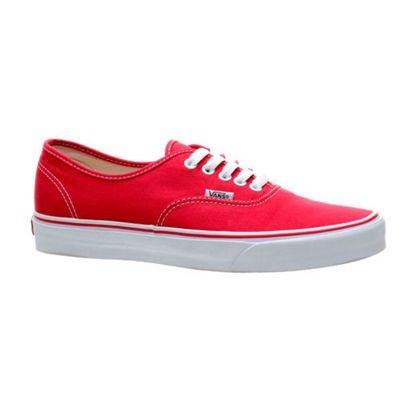 Vans Authentic Red Shoe EE3RED