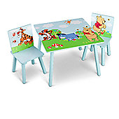 Delta Children Disney Winnie The Pooh Table and Chairs