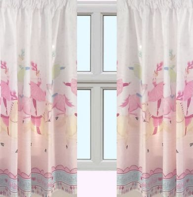 Horse and Ballerina, Circus Curtains 54s
