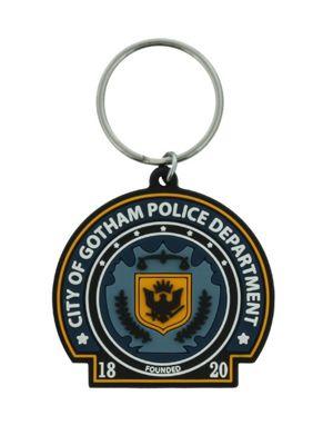DC Comics Gotham Police Dept. Rubber Keyring