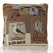 Alan Symonds Tapestry Seagull Cushion Cover - 45x45cm