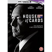 House of Cards - Season 1-4 DVD