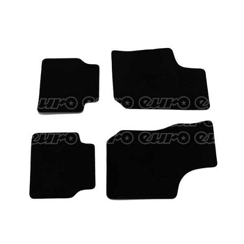 Tailored Car Mat Set (Black) Vauxhall Corsa B 94>01 (4 Pc)