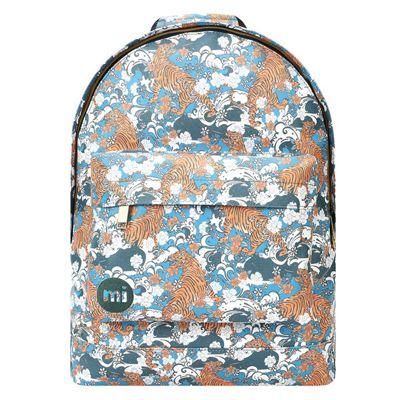 Children's Mi Pac Backpack - Blue Oriental Tigers, Children's Backpacks, Girl's Backpacks, Boy's Backpacks