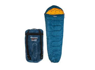 Discovery Adventures 300gsm Mummy Sleeping Bag