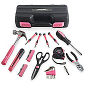 VonHaus Ladies 39 Piece Hand Tool DIY Kit Set