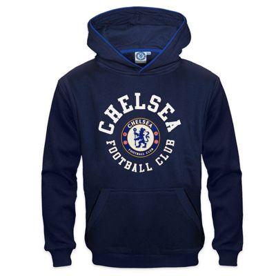 Chelsea FC Boys Hoody Navy 8-9 Years