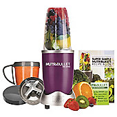 NUTRIBULLET  8 PIECE        SET IN PLUM