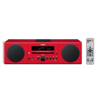 Yamaha AV Desktop Audio System Red