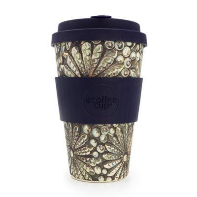 Ecoffee Cup Kai Leho Deep with Blue Silicone 14oz