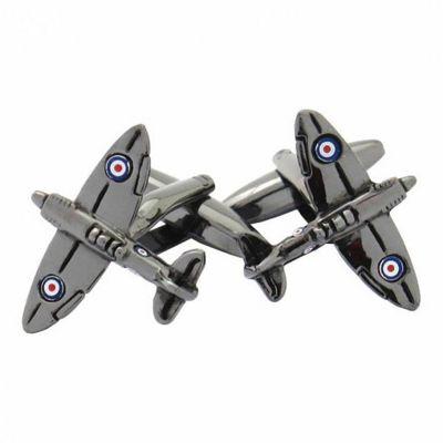 Maze Fighter Plane Cufflinks
