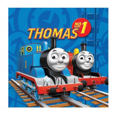 Thomas the Tank Engine Napkins - 2ply Paper - 16 Pack
