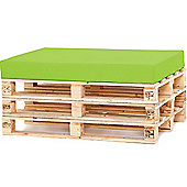 Water Resistant Pallet Seat Cushion - Lime