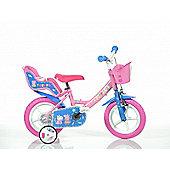 Peppa Pig 12inch Balance Bike Pink - DINO Bikes