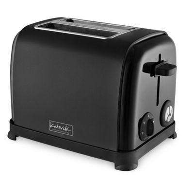 KitchenOriginals by Kalorik Matte Black Two Slice Toaster