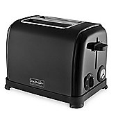 KitchenOriginals by Kalorik Matte Black Two Slice Toaster