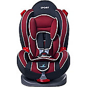 Caretero Sport Classic Car Seat (Cherry)
