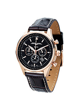Jorg Gray Commemorative Edition Ladies Leather Chronograph Date Watch JG6500-22