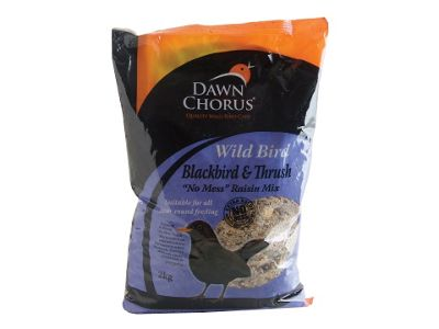 Dawn Chorus 50871 Blackbird/Thrush Raisin Mix 2Kg